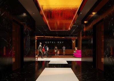 Hotel Sky Cape Town - Lobby