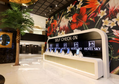 Hotel Sky Reception and Self Check-In