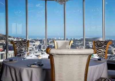 Infinity Restaurant at Hotel Sky Cape Town